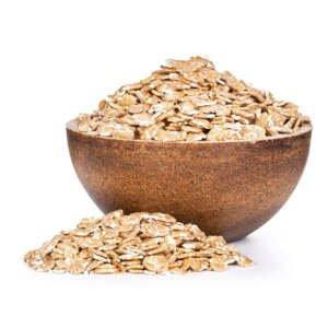 GRIZLY Pšeničné vločky 1000 g - expirace