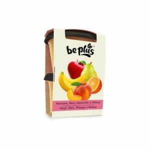 Beplus Kojenecká výživa jablko, hruška, broskev, banán, pomeranč  2 x 200 g - expirace