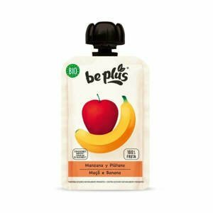 Beplus Ovocné pyré jablko, banán BIO 100 g - expirace