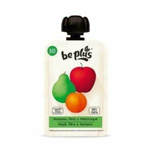 Beplus Ovocné pyré jablko, hruška, meruňka BIO 100 g - expirace