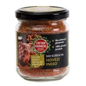 """Cretan Farmers Kořenící směs bez soli """"Hovězí"""" 75 g"""