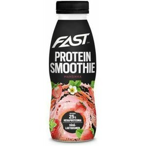 Fast Protein Smoothie Strawberry 330 ml - expirace