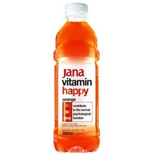 Jana Vitamin Water pomeranč 500 ml - expirace