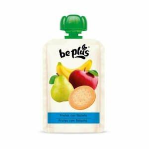 Beplus Ovocné pyré s oplatkou 4 x 100 g - expirace
