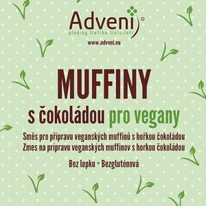Adveni Muffiny s čokoládou pro vegany 280 g - expirace
