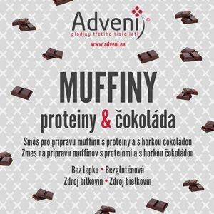 Adveni Muffiny proteiny & čokoláda 280 g - expirace