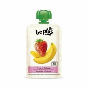Beplus Ovocné pyré banán, jahoda 100 g - expirace