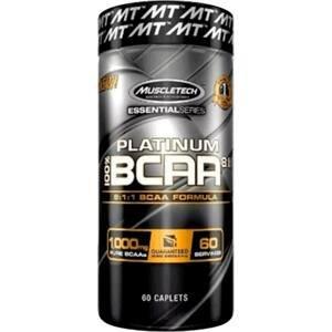 MuscleTech Platinum 100% Bcaa 60 kapslí - expirace