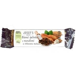 Josef's snacks Slaná tyčinka s třtinovou melasou 45 g - expirace