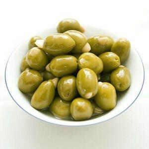 Hermes Zelené olivy s mandlí 190g