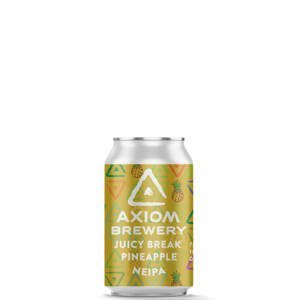 Axiom Brewery Pivo Juicy Break 16°P, Ananas NEIPA 330 ml - expirace