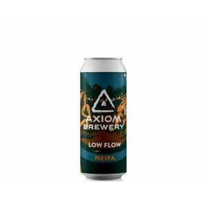 Axiom Brewery Low Flow 13°alk. 5,5 %; 500 ml West Coast NEIPA - expirace