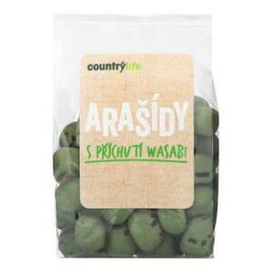 Country Life Arašídy s příchutí wasabi 100 g - expirace