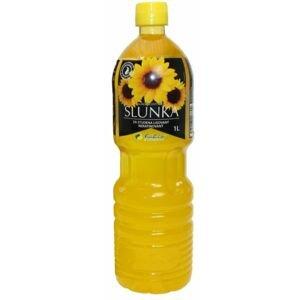 Fabio Slunečnicový olej SLUNKA za studena lisovaný 1 l (PET) - expirace