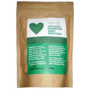 Sun&Seed Raw proteinový prášek z dýňových semínek BIO 450g