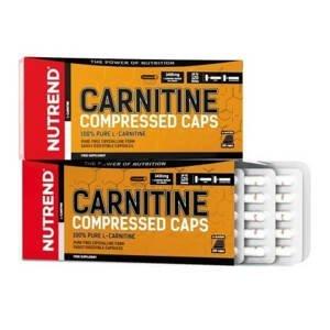 Nutrend Carnitine Compressed 120 kapslí