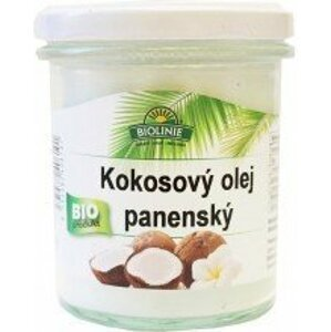 Biolinie Olej kokosový panenský BIO 240 g