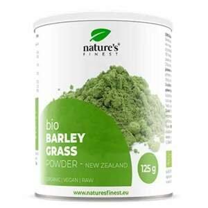 Nutrisslim Barley Grass powder (Zelený ječmen) BIO 125 g
