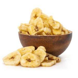 GRIZLY Banánové chipsy BIO 1000 g