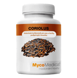 MycoMedica Coriolus 90 rostlinných kapslí