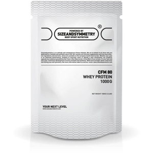 SizeAndSymmetry Whey CFM WPC 80 1000 g