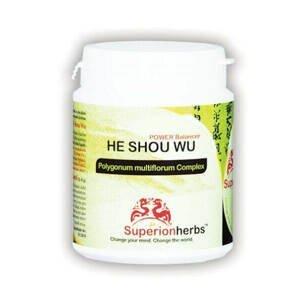 SUPERIONHERBS HE SHOU WU – Power Balancer 90 kapslí
