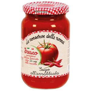 le conserve della nonna Arrabbiata omáčka 350 g