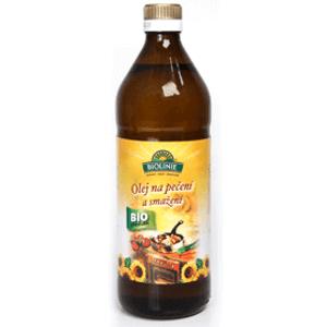 Biolinie Olej na pečení a smažení BIO 750 ml