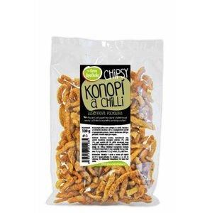Green Apotheke Chipsy s konopným semínkem a chilli