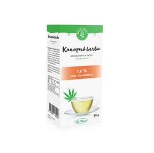Zelená země CBD Konopný čaj porcovaný 30 g