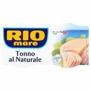 Rio mare Tuňák ve vlastní šťávě 2x160 g