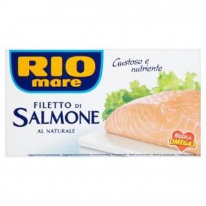 Rio mare Filety z lososa ve vlastní šťávě 150 g