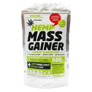 Zelená země Konopný gainer Fitness 500 g
