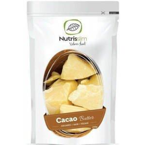 Nutrisslim Cacao Butter (Kakaové máslo) BIO 250 g