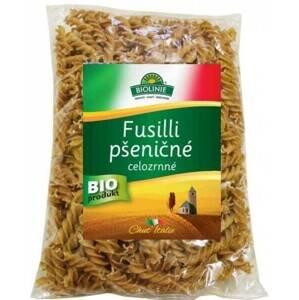 Biolinie Fusilli pšeničné celozrnné BIO 500 g