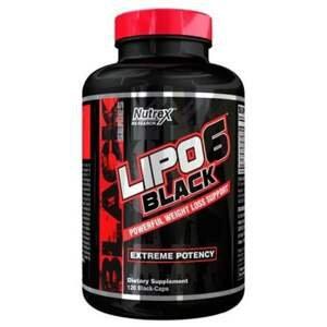Nutrex Lipo-6 Black 120 kapslí