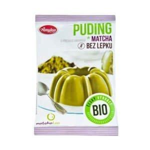 Amylon Puding matcha s příchutí ananasu bezlepkový BIO 40 g