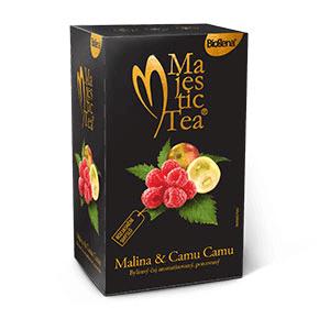 Biogena Čaj Tea Majestic Malina a Camu Camu 20 x 2,5 g