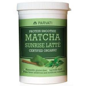 Iswari Matcha Sunrise latté protein smoothie 160 g