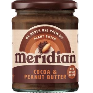 Meridian Arašídovo - kakaové máslo 280 g