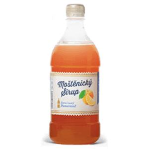 Moštěnický sirup Pomerančový sirup 700 ml