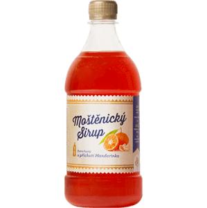 Moštěnický sirup Mandarinkový sirup 700 ml
