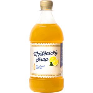 Moštěnický sirup Citronový sirup 700 ml