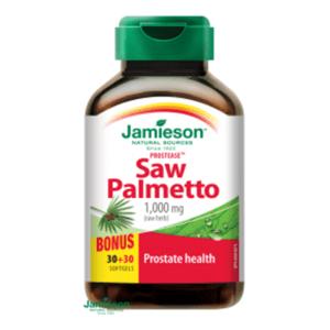 Jamieson Prostease™ Saw Palmetto 125 mg na prostatu 60 tablet