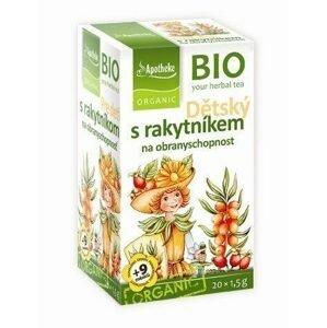 Apotheke Dětský bylinný čaj s rakytníkem BIO 20 sáčků
