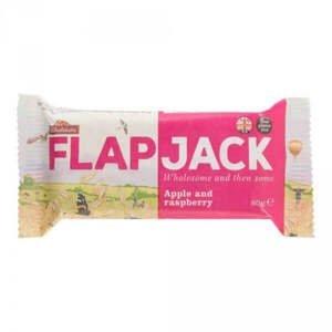 Wholebake Flapjack ovesný malina/jablečná šťáva bezlepkový 80 g
