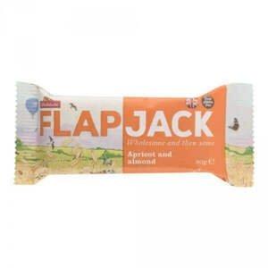 Wholebake Flapjack ovesný meruňka/mandle bezlepkový 80 g