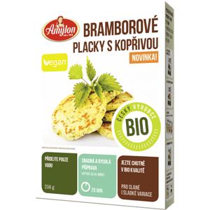 Amylon BIO bramborové placky s kopřivou 250 g