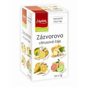 Apotheke Zázvorovo-citrusové čaje 4v1 20 sáčků
