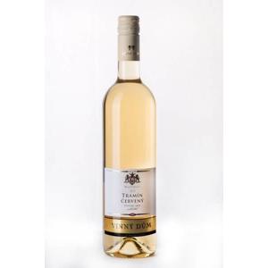 Vinný dům Tramín červený2016 bílé víno polosuché s přívlastkem 750 ml
